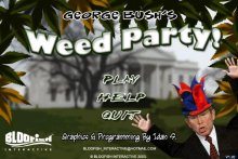 George Bush Weed Party screenshot